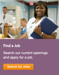Search our current openings and apply for a job.