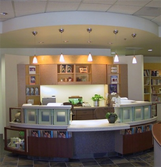 Women's Health Center front desk