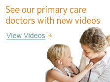 Check out our doctors with new videos